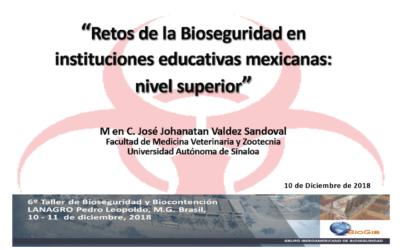 Retos de la Bioseguridad en Instituciones Educativas Mexicanas: Nivel Superior
