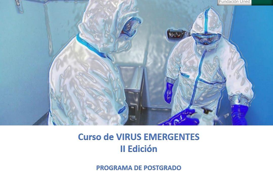 """Universidad Nacional de Educación a Distancia Curso """"Virus Emergentes – II Edición"""" – del 2 de diciembre de 2019 al 31 de mayo de 2020"""
