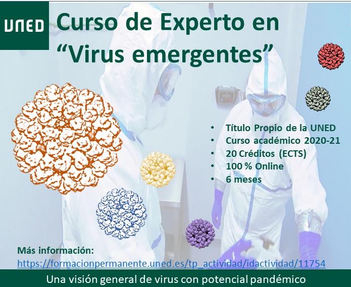 "Curso de Experto en ""Virus Emergentes"""